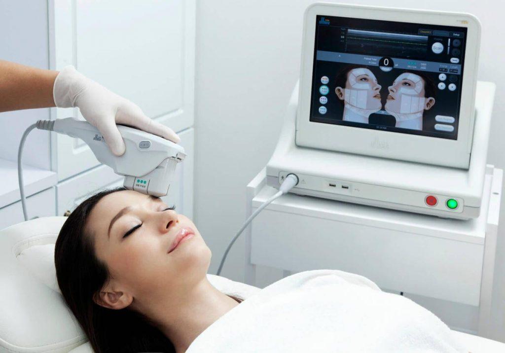 HIFU vs Ultherapy: Ultherapy machine has ultra imaging